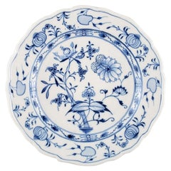 Stadt Meissen Blue Onion Pattern, Dinner Plate, 6 Pcs in Stock, Mid-20th Century