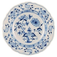 Stadt Meissen Blue Onion Pattern, Large Soup Plate, 10 Pieces in Stock