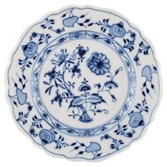 Stadt Meissen Blue Onion Pattern, Lunch Plate, Mid-20th Century