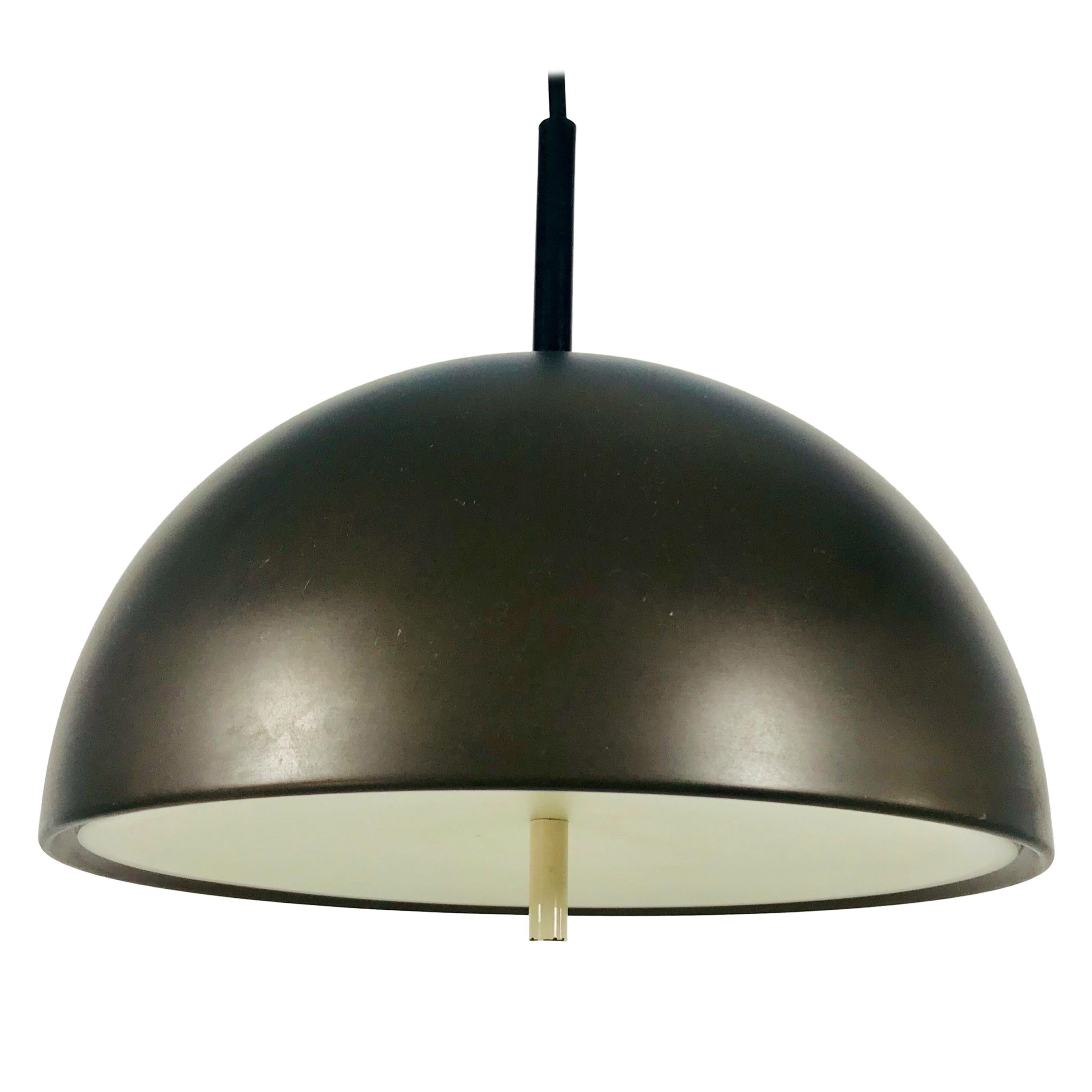 Staff Brown Hanging Lamp, 1970s, Germany
