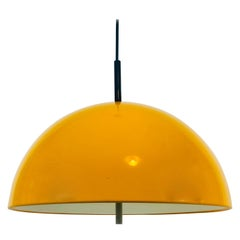 Staff Yellow Hanging Lamp, 1970s, Germany