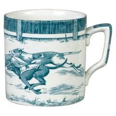Staffordshire Greyhound Mug by Leighton Pottery