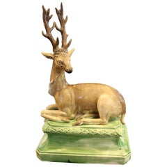 Staffordshire Pearlware Model of a Stag