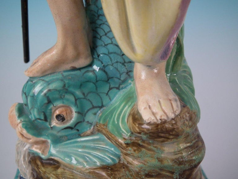 Staffordshire Pearlware Neptune Figure For Sale 7
