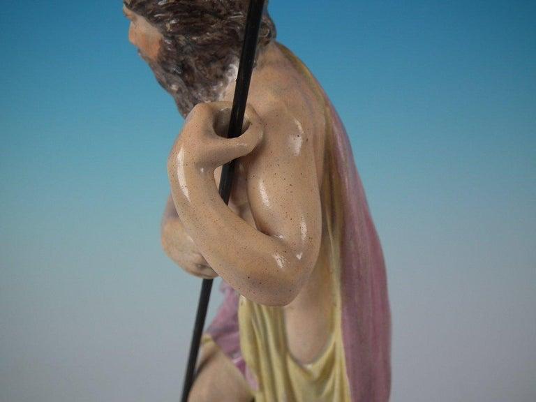 Staffordshire Pearlware Neptune Figure For Sale 10