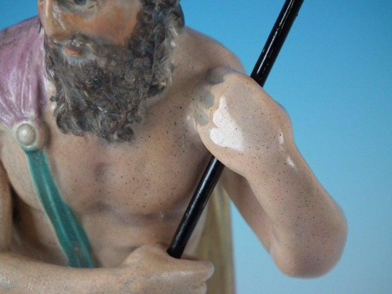 Staffordshire Pearlware Neptune Figure For Sale 14