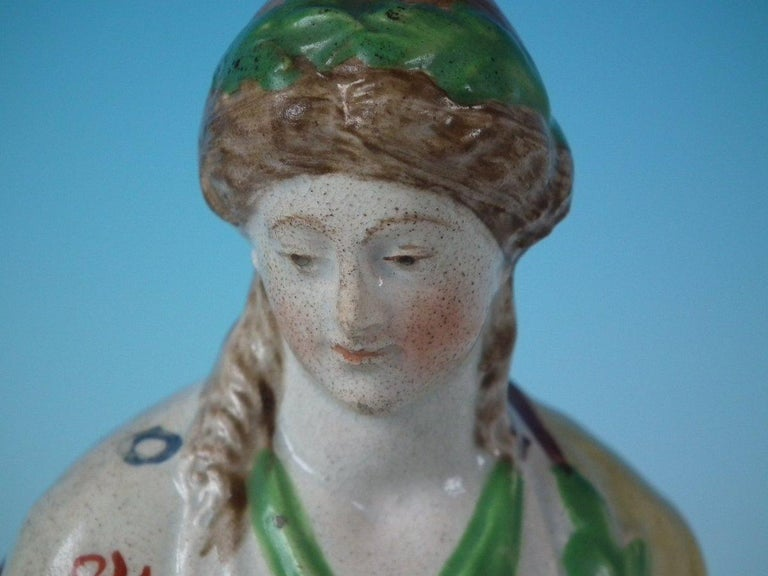 Staffordshire Pearlware 'Peace' Figure For Sale 7