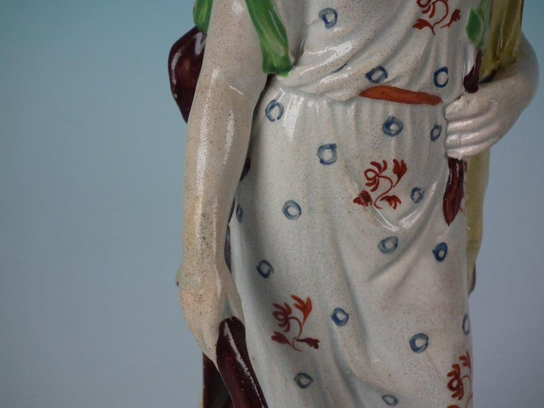 Staffordshire Pearlware 'Peace' Figure For Sale 8