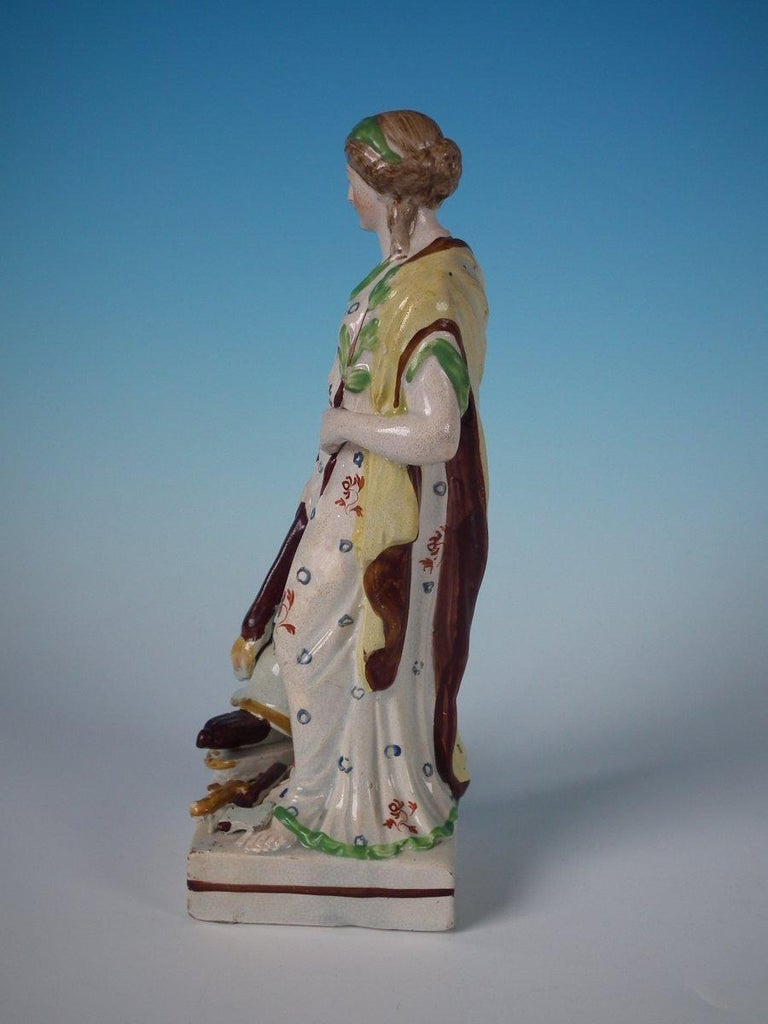 English Staffordshire Pearlware 'Peace' Figure For Sale
