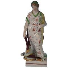 Staffordshire Pearlware 'Peace' Figure