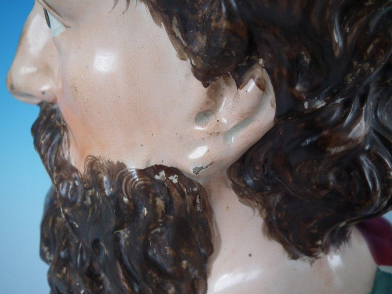 Staffordshire Pearlware Plato Bust For Sale 5