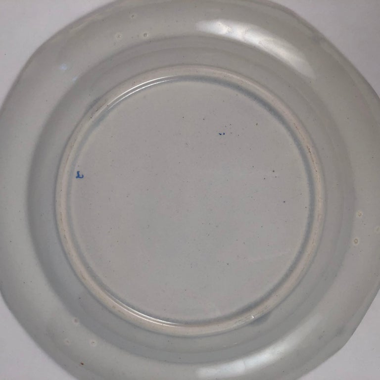 Staffordshire Sea Shell and Butterfly Plate, circa 1820-1830 For Sale 3