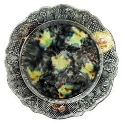 Staffordshire Whieldon Type Tortoiseshell Glazed Creamware King of Prussia Plate