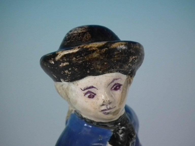 Stafforshire Pearlware Sailor Figure For Sale 7
