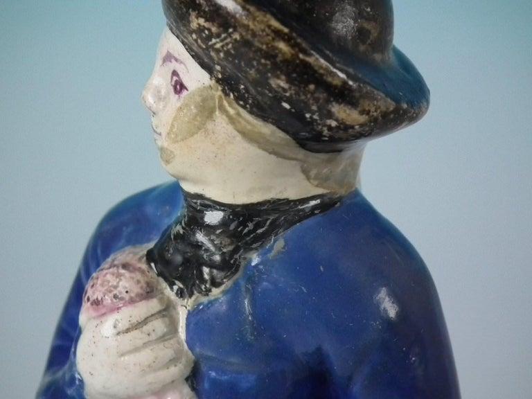 Stafforshire Pearlware Sailor Figure For Sale 10