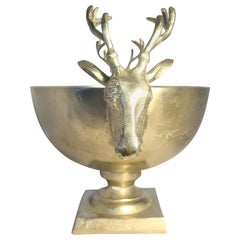 Stag Champagne Bucket / Planter in Metal