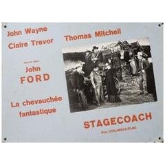 """""""Stagecoach"""" 1970s Swiss Scene Card"""