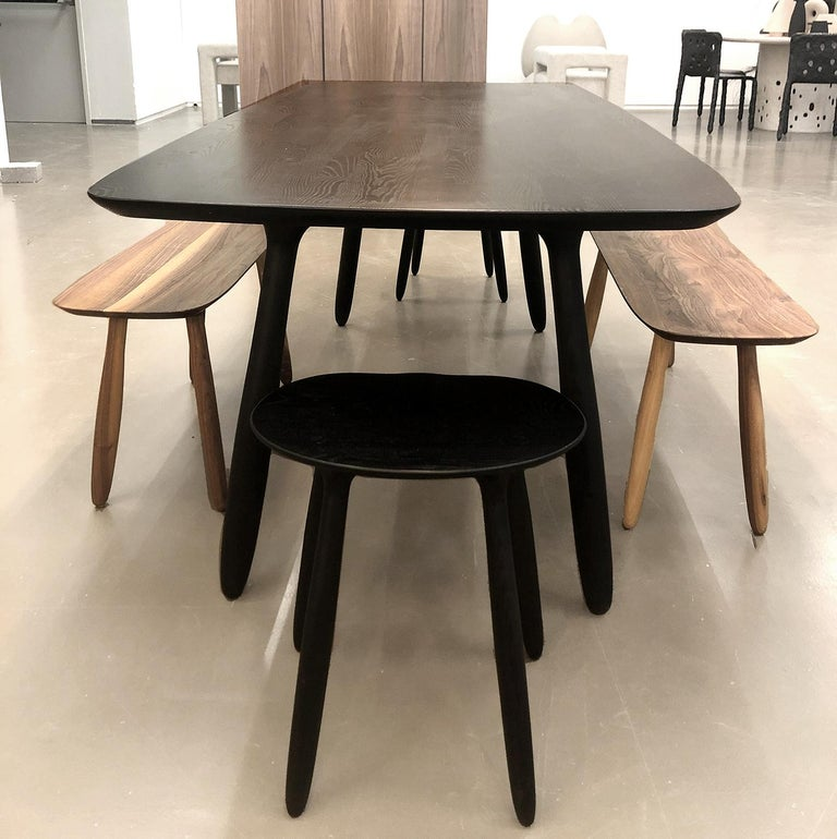 Stained Ash Daiku Table by Victoria Magniant In New Condition For Sale In Paris, FR