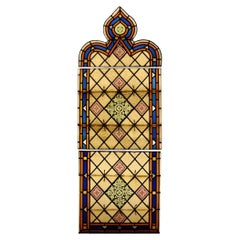 Stained Glass Church Window Piece