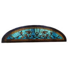 Stained Glass Transom Window