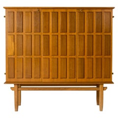 Stained Oak Cabinet by Eyvind Beckman