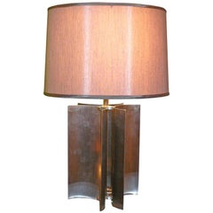 Stainless Curved Lamp