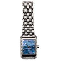 Stainless Steel and Diamond Raymond Weil Tosca Wristwatch