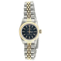 Stainless Steel and Gold Rolex Oyster Perpetual