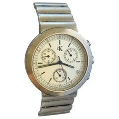 Stainless Steel Battery Operated Calvin Klien Watch