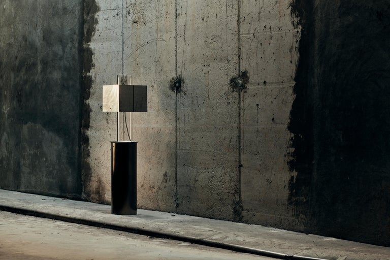 Stainless Steel Floating Lamp by Brajak Vitberg In New Condition For Sale In Geneve, CH