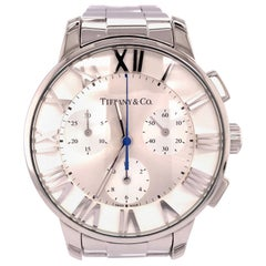 Stainless Steel Tiffany & Co. Atlas Watch