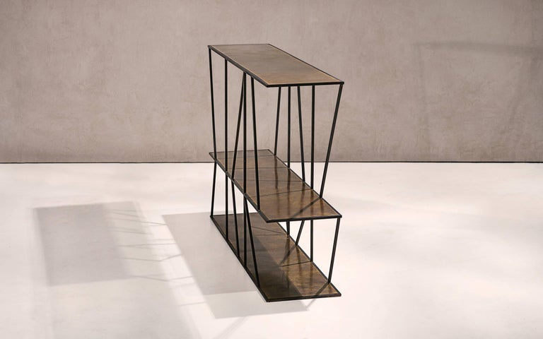 Modern Staiths Console Table by Novocastrian For Sale