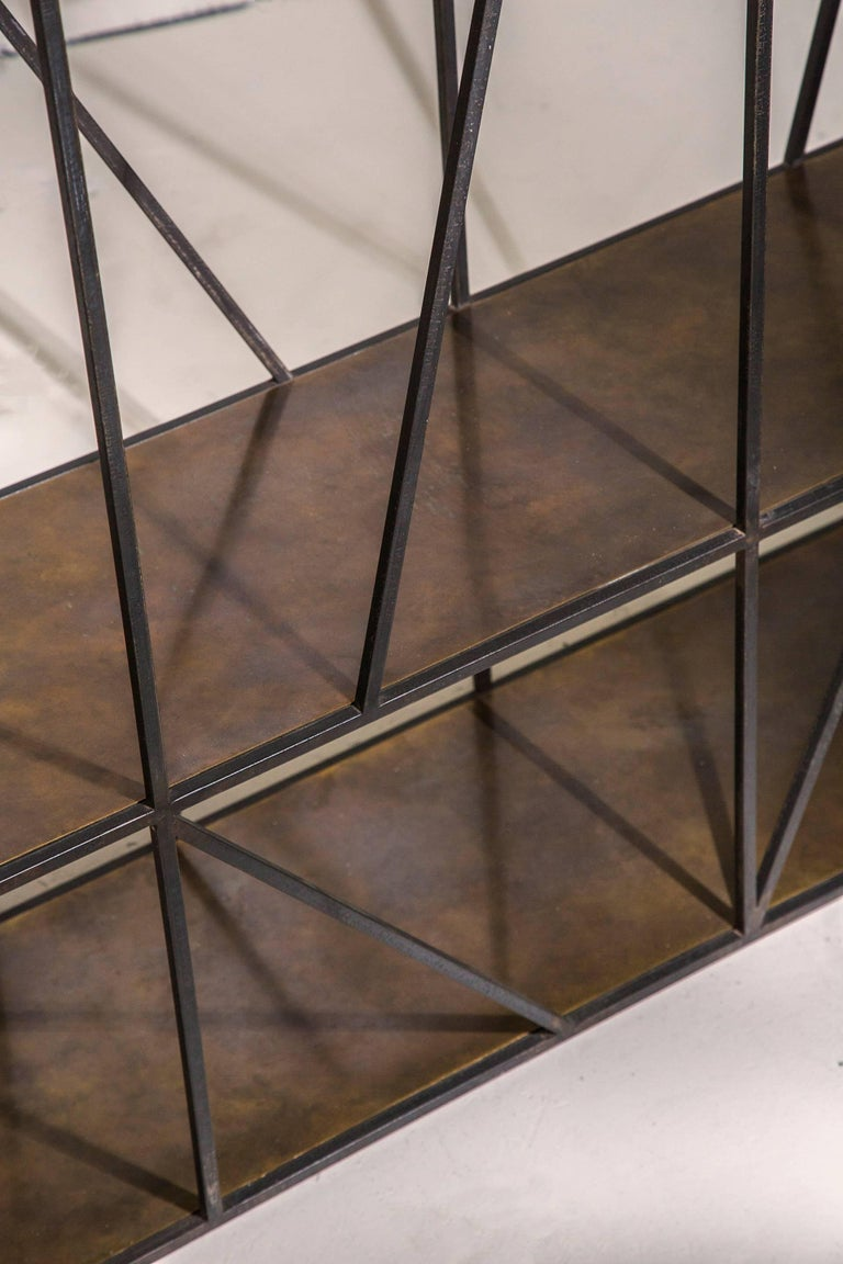 Brass Staiths Console Table by Novocastrian For Sale