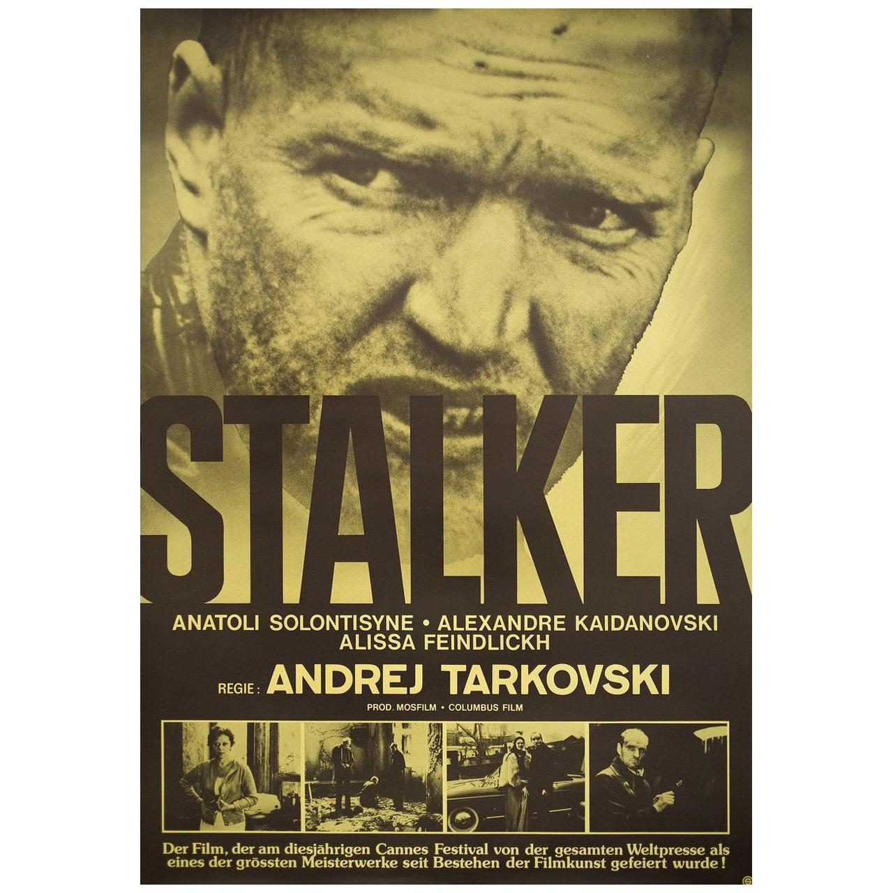 """Stalker"" 1979 Swiss B1 Film Poster"