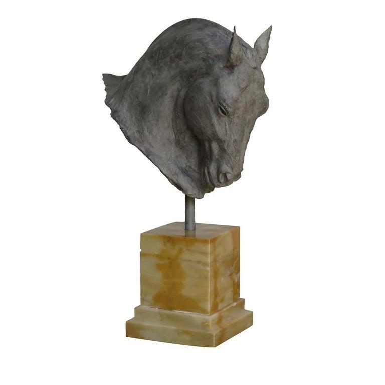 Modern Stallion Sculpture For Sale