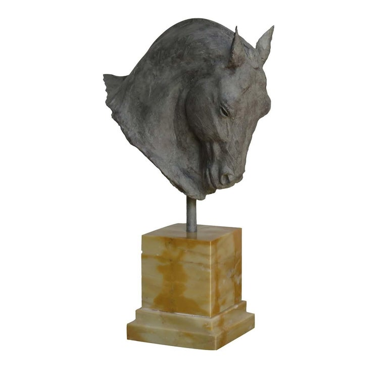 Italian Stallion Sculpture For Sale