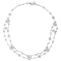 Stambolian White Gold and Diamond Choker Necklace