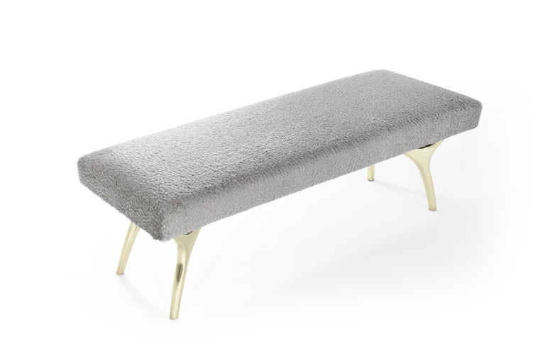 Stamford Modern's Crescent Bench In New Condition For Sale In Stamford, CT