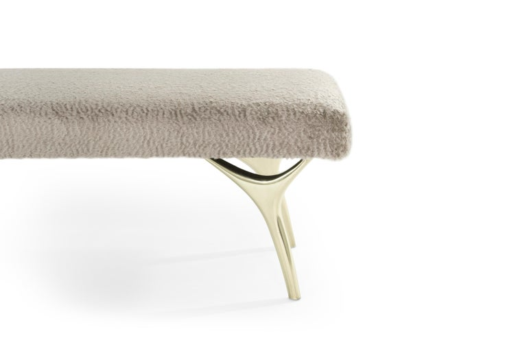 Contemporary Stamford Modern's Crescent Bench For Sale