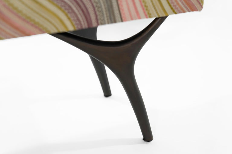 Stamford Modern's Crescent Bench in Bronze For Sale 2