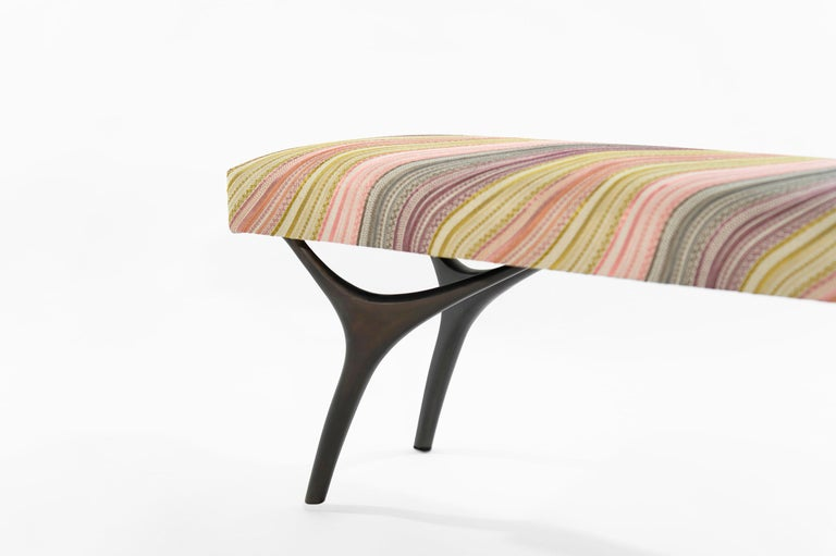 Contemporary Stamford Modern's Crescent Bench in Bronze For Sale