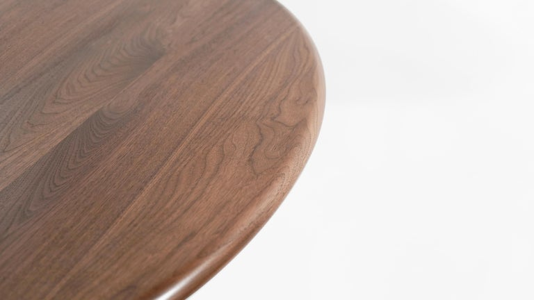 Stamford Modern's Gazelle Dining Table in Walnut For Sale 3