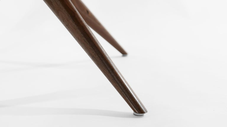 Stamford Modern's Gazelle Dining Table in Walnut For Sale 4