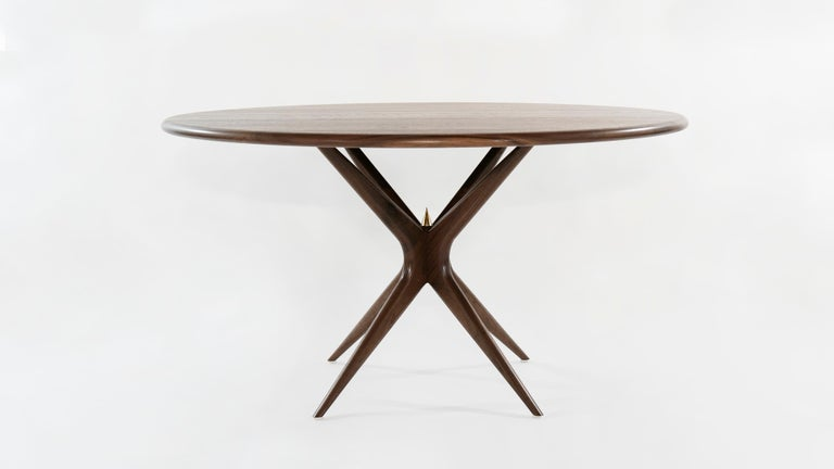 Stamford modern continues to expand its collection of fully customizable furniture with the introduction of The Gazelle dining table.  Largely inspired by iconic Italian furniture designer Gio Ponti. We are proud to mimic his tradition of