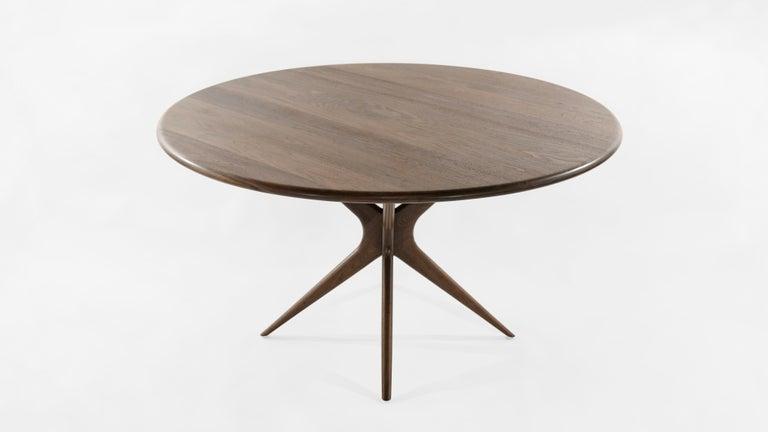 Mid-Century Modern Stamford Modern's Gazelle Dining Table in Walnut For Sale