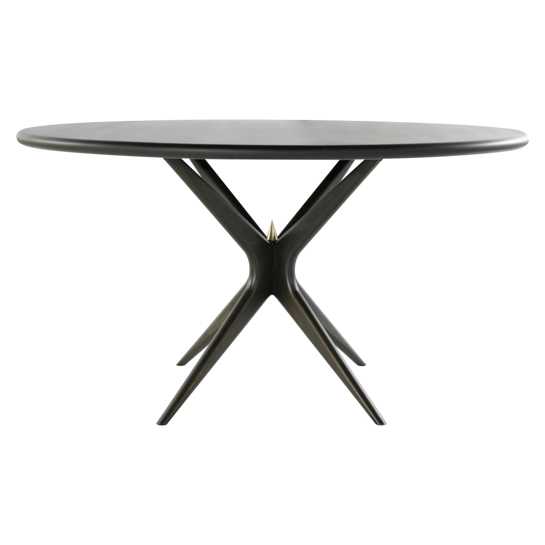 Stamford Modern's Gazelle Dining Table in Espresso Walnut