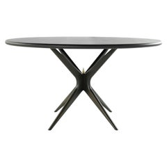 Stamford Modern's Gazelle Dining Table in Espresso Walnut