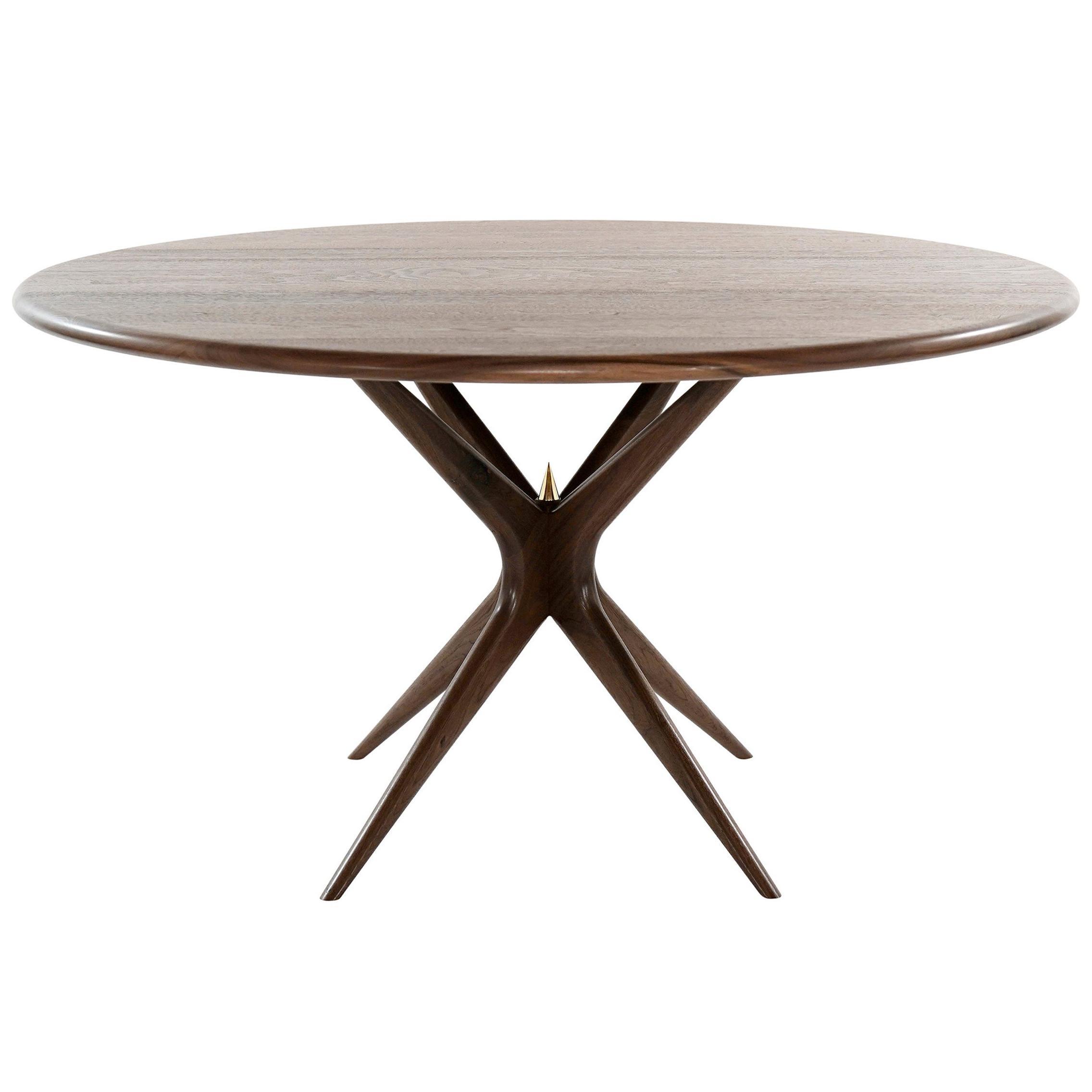 Stamford Modern's Gazelle Dining Table in Walnut