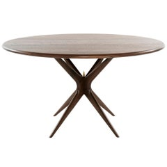 Stamford Modern's Gazelle Dining Table in Walnut