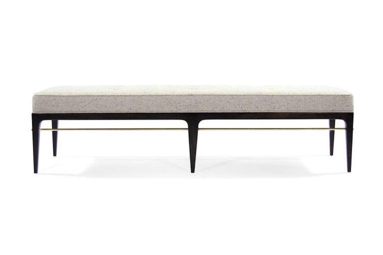 Brass Stamford Modern's Linear Bench